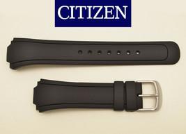 Genuine Citizen Eco-Drive  DIVERS watch band  BLACK rubber strap BM8290-05Ei - $62.95