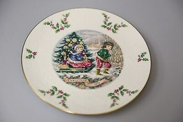 Vintage Royal Doulton annual Christmas holiday collectors plate 1979 sle... - $31.31