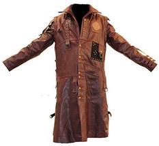 Mens Yondu Guardians of Galaxy Vol 2 Michael Rooker Brown Costume Coat image 1