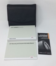 2017 17 Kia Sedona Owner's Manual Guide Book with Case OEM - $29.95