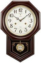 Seiko Clock Clock Wall Clock Chime and Strike Radio Clock Twin -Pas RQ205B - $498.09