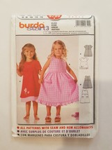 Sewing Pattern Baby Girls Toddlers Clothing Sizes 2-3-4-5-6 Burda Brand ... - $9.50