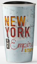 Starbucks 2016 New York State Local Collection Double Wall Ceramic Tumbl... - $69.99