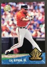 1992 Fleer Ultra MVP Cal Ripken Jr. #5 - $2.92