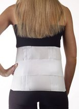 Corflex Lumbar Sacral Support - Low Back Pain Treatment-4XL - White - $43.99