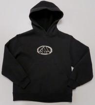 Adidas Black Hoodie Pullover Sweatshirt Youth Small 8-10 Raised Spell Ou... - $8.79