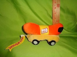 Oscar Mater Plush Wienermobile New With Tag Just Whistle Stuffed Toy - $9.89