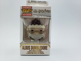 Funko - POP Keychain: Harry Potter Holiday- Dumbledore w/ Package Brand New - $8.90