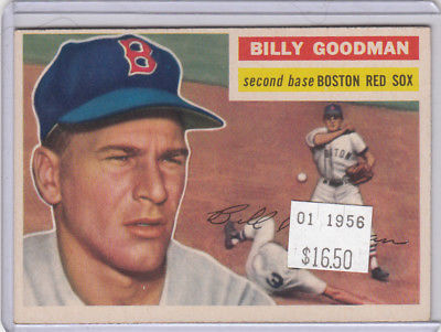 1956 Topps 245 Billy Goodman Not Graded 02