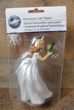 Princess Bride Kissing Frog Groom Wilton Humorous CAKE TOPPER NEW - $14.84