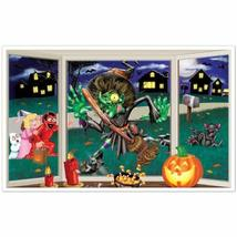 Beistle Crashing Witch Insta View, 3-Feet 2-Inch by 5-Feet 2-Inch - $5.61