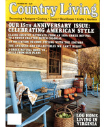 COUNTRY LIVING Magazine  October Issue 1993 - $6.00