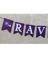 Nfl Baltimore Ravens Banner Custom Birthday Anniversary Party Decor Hand... - $20.00
