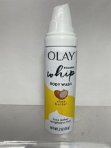 Olay Whip Foaming Body Wash Shea Butter Luxe Lather weightless 2 Oz. Ea - $2.96