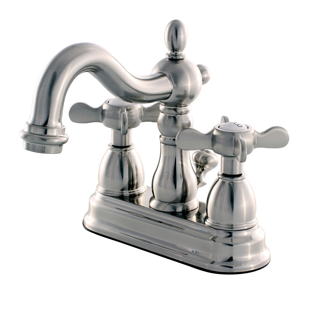 "Primary image for KB1608BEX 4"" Centerset Lavatory Faucet with Retail Pop-Up, SN"