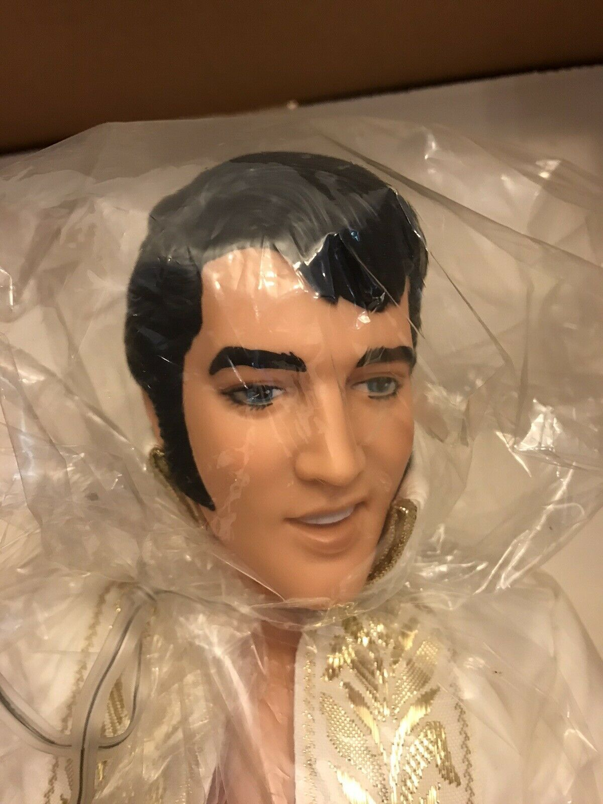 "Primary image for Elvis Presley 21"" World Doll 1984 Supergold - Limited Edition with box"