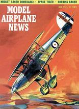 Model Airplane News - Hawker Fury -  July 1957 - Magazine Cover Poster - $9.99+