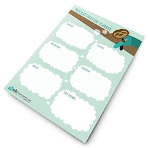 Monster Stationery - A4 Weekly Procrastination Planner - Monday to Frida... - $11.99