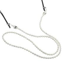 5pcs White Pearl Beaded Eyeglasses Reading Glasses Chain Holder Cord - $22.10