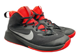 Nike Swoosh Future Court JDI AR2672 NBA Basketball Shoes Boys 5Y Fast Sh... - $39.19