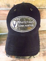 WHITETAILS Unlimited Hunting Deer Buck Adjustable Adult Hat Cap  - $5.93
