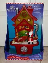 Hallmark North Pole Santa And Elves Magic Mechanical Santa's Checklist H... - $24.99