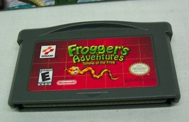 FROGGER'S ADVENTURES Temple of the Frog NINTENDO GAME BOY ADVANCE GAME w/ MANUAL image 2