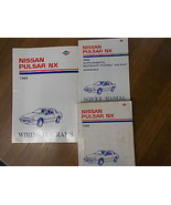 1989 Nissan Pulsar NX Service Repair Shop Manual SET Factory Book FEO 89 - $98.98
