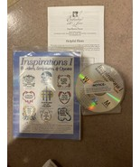 Martha Pullen Machine Embroidery CD Inspirations I Borders Scripture Quo... - $39.99