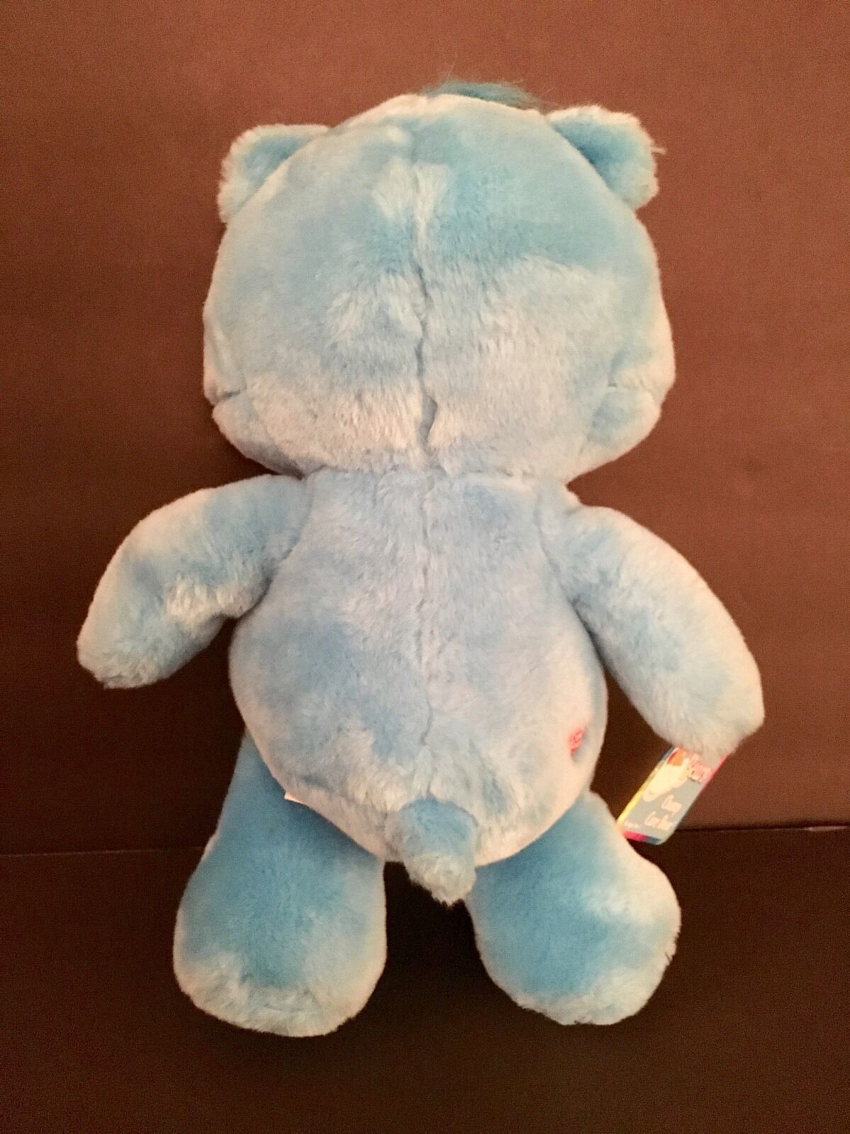 "CARE BEAR 13"" Stuffed Plush Toy Blue Champ Bear Play Along 2003 NWOB w VHS"