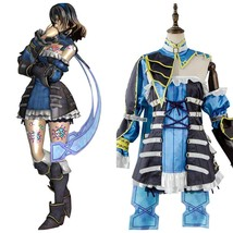 Bloodstained Ritual of the Night Miriam Costume Cosplay Suit Blue Dress Outfit - $120.52+