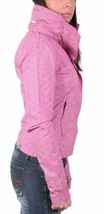 Bench Urbanwear Womens BBQ II Barbecue Pink Jacket w Hood BLKA1830 NWT image 2