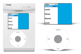 Dry Erase MP3 Player Decals For Samsung Dishwasher Classic Music Stickers iPod - $24.70