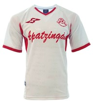 Apatzingan  Adult Soccer Jersey White by Marval_100% Polyester_Made in M... - $29.99