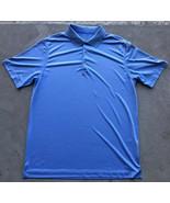 Nike Golf Tour Performance Men's Polo Shirt Size Large Blue Striped - $19.80