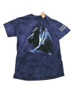 NEW Majestic Horse Shirt The Mountain Purple Tie Dye Sonoita ARIZONA Kim... - $27.33