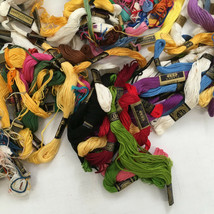 mixed  color embroidery  85 thread floss  lot  yellow white  craft suppl... - $24.75