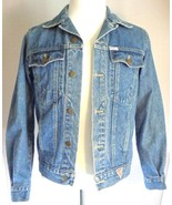 Mens Guess Georges Marciano Denim Trucker Jacket Size Small - $84.95