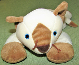 VINTAGE TY MEOW CAT PILLOW PETS SIAMESE KITTEN 1996 STUFFED ANIMAL TAN IVORY TOY image 2