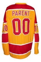 Any Name Number Philadelphia Blazers Retro Hockey Jersey Yellow Parent Any Size image 2
