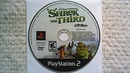 Shrek the Third (Sony PlayStation 2, 2007) - $4.70