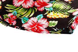 Men's Tropical Aloha Beach Party Hawaiian Luau Button Up Casual Dress Shirt XL image 7