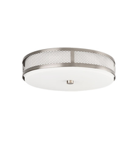 Kichler 42379NILEDR Signature Flush Mounts 13in Brushed Nickel 1-light - $334.99