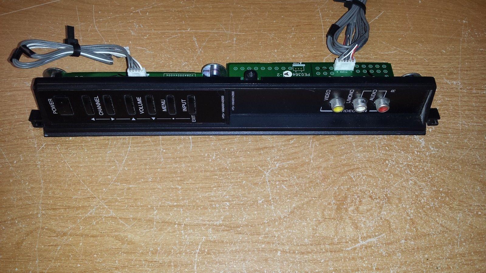 Toshiba 46LX177 - Key Controller & AV Board (PE0364A-2 & PE0364A-4)