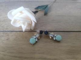 J crew Women's Crystal Turquoise Drop Earring - $17.81