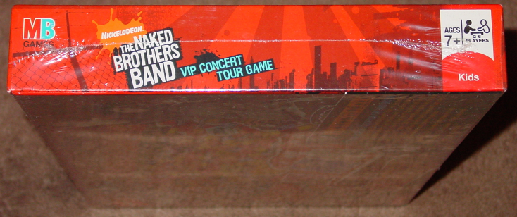 NAKED BROTHERS BAND NEW  SEALED NICKELODEON VIP CONCERT TOUR GAME 2008 COMPLETE