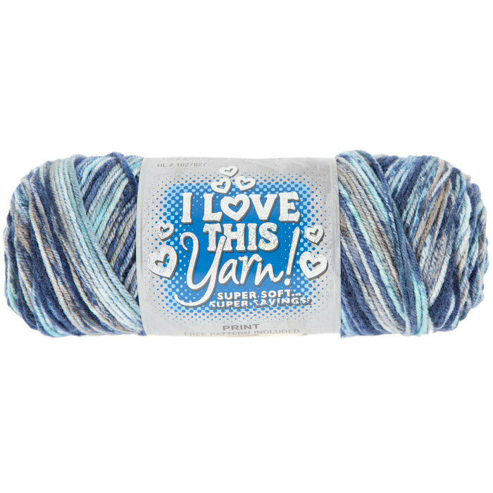 I Love This Yarn Print in Float Along #1627827