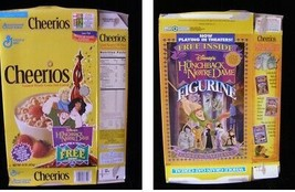 Cheerios Disney Hunchback Of Notre Dame Vintage Cereal Box Flat Empty Box - $16.99