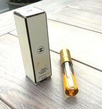Vintage CHANEL No.5 Spray Perfume 1/5 FL oz Refill 1/2 full original box image 4