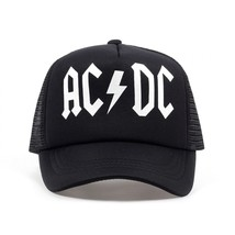 Men Women Cool Trucker Mesh Caps ACDC Band Rock Fans Cap - $11.87